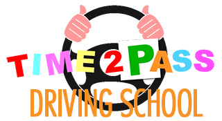 Time2Pass Driving School Logo